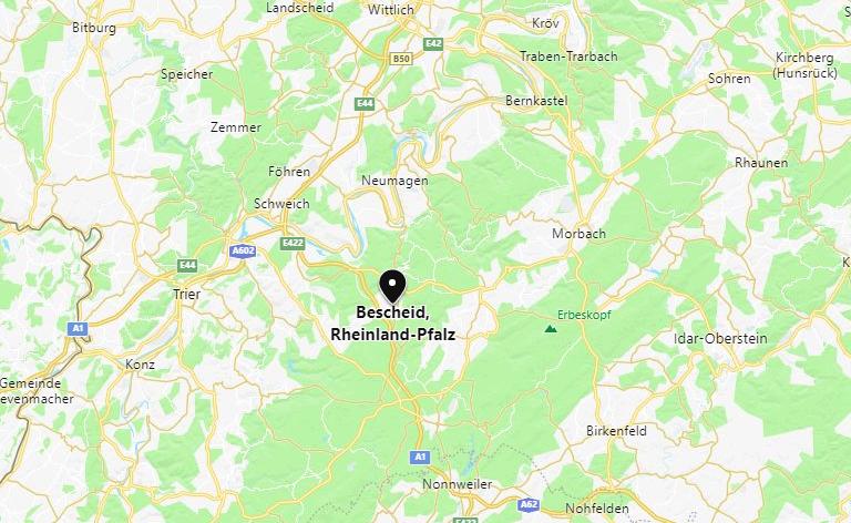 Jagdverpachtung Rheinland-Pfalz (Landkreis Trier-Saarburg)