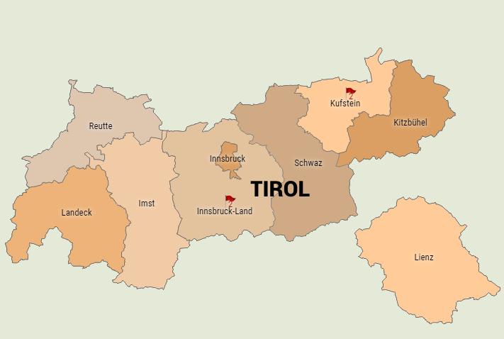 Jagdverpachtung Tirol (Bezirk Kufstein und Innsbruck Land)