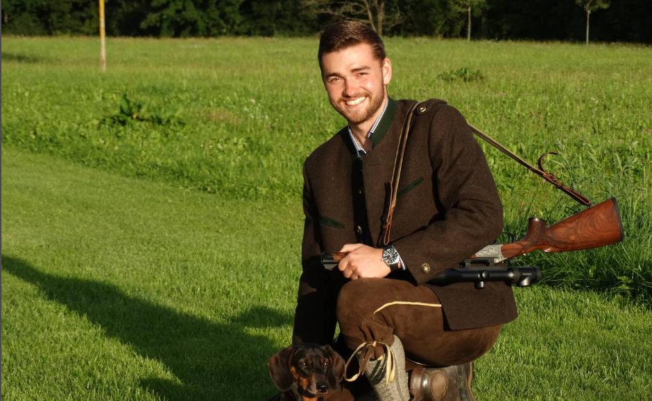Berufsjäger David Meier: In Deutschland lebt er seinen Traum
