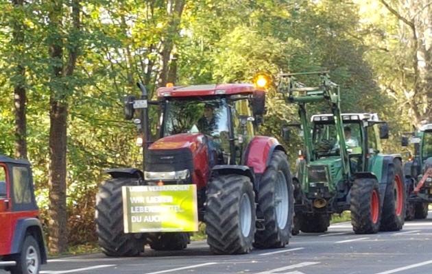 Hamburg: 5.000 Bauern machen ihrem Unmut Luft
