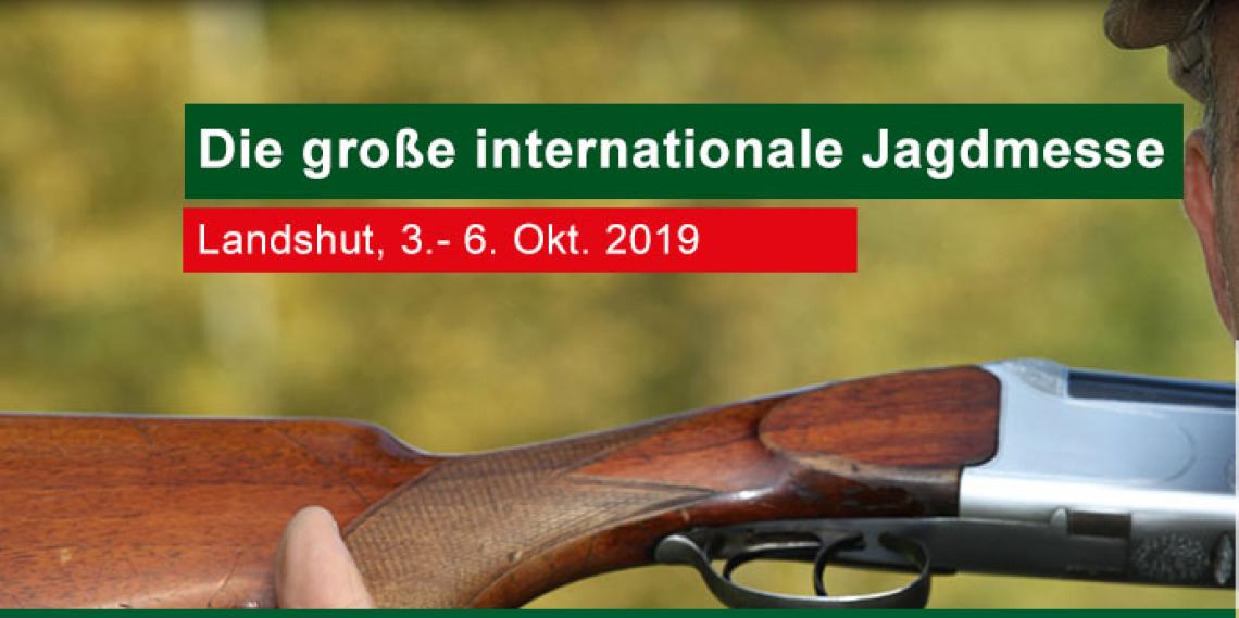 3.10.2019 - 06.10.2019, Jagd, Fisch & Natur Landshut 2019, Messepark Landshut Niedermayerstraße 100 84036 Landshut