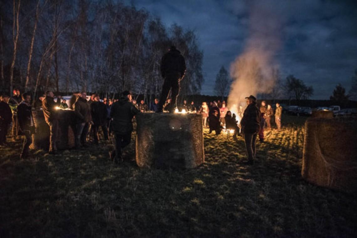 10. November 2018, um 10 Uhr Bauernprotest des Bauernbund Brandenburg, Potsdam
