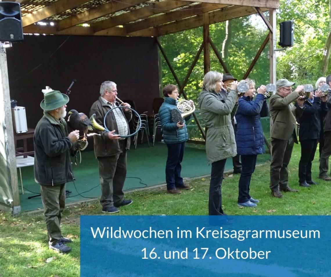 16. und 17. Oktober 2021,  Wildwochen 2021, Kreisagrarmuseum in Dorf Mecklenburg