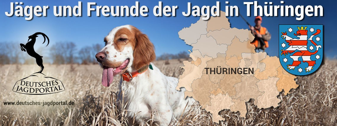Jäger und Freunde der Jagd in Thüringen