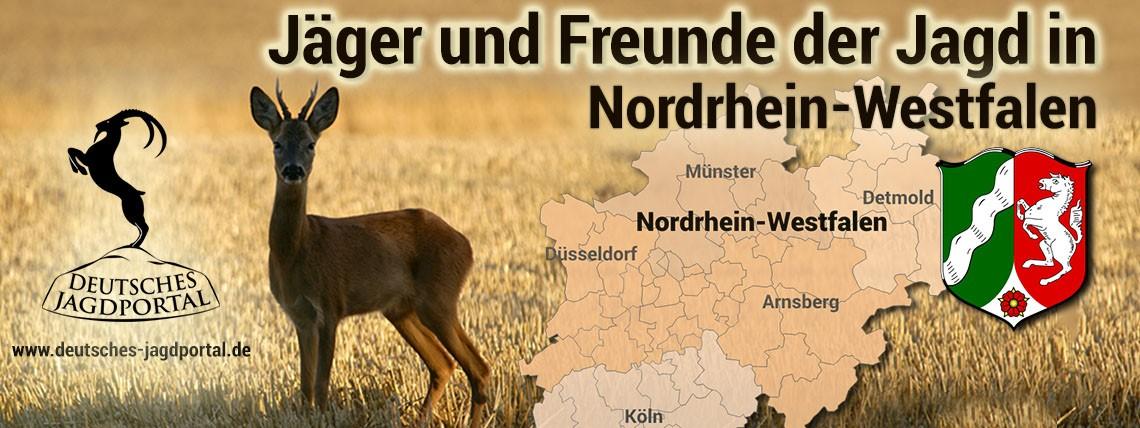 Jäger und Freunde der Jagd in Nordrhein-Westfalen