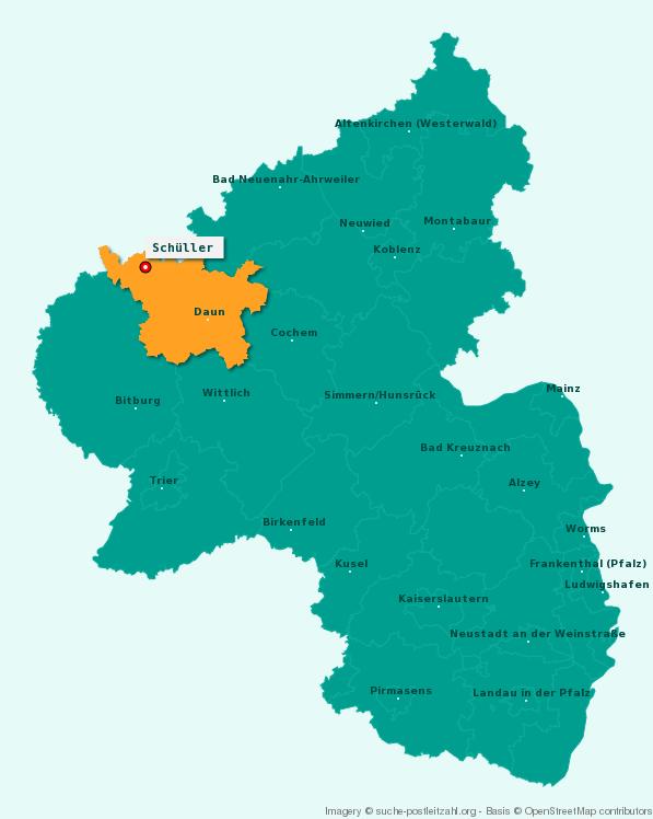 """Jagdverpachtung Rheinland-Pfalz, Eifelkreis: Hochwildrevier in der Eifel zu verpachten! Das Revier ist Mitglied der Rotwildhegegemeinschaft """"Duppacher Rücken"""" Die Jagdgenossenschaft Schüller bietet zum 01.04.2021 folgenden gemeinschaftlichen Jagdbezirk öffentlich zur Pacht an:Name des Jagdbezirkes: SchüllerGesamtfläche: 477,6 ha, Waldanteil: 255,5 ha, Feldanteil: 171,2 ha, Befriedet: 50,3 ha, Bejagbare Fläche: 427,3Submission: 29.1.2021https://www.deutsches-jagdportal.de/hunting_db/mapanbitener/index.php?view=article&page=Daun&country=Deutschland&listing_type=bite&Provajder=1,3,2,&county=Daun&&id=16882"""