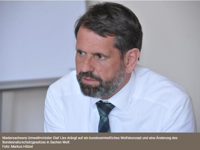 Länder für Entnahmequote beim Wolf<br /><br />Das Land Niedersachsen hat am 14. Oktober gemeinsam mit den Ländern Brandenburg und Sachsen eine Bundesratsinitiative zum Umgang mit dem Wolf in den Deutschen Bundesrat eingebracht. In einem zehn Punkte umfassenden Entschließungsantrag fordern die Länder ein nationales Wolfskonzept.<br /><br />https://www.deutsches-jagdportal.de/portal/index.php/aktuelles/7960-laender-fuer-entnahmequote-beim-wolf