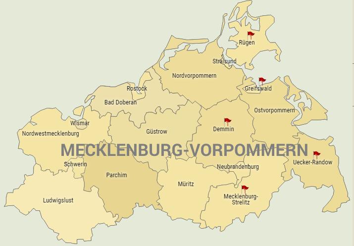 Jagdverpachtung Mecklenburg-Vorpommern (verschiedene Landkreise)